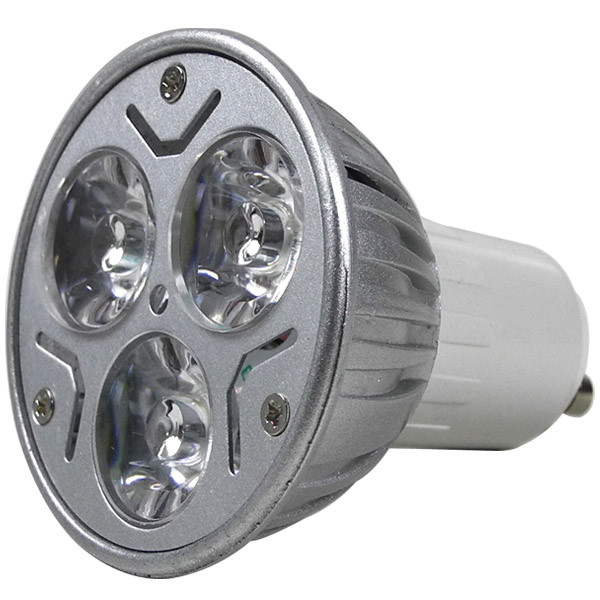 MENGS® GU10 3W LED Spotlight 3x 1W SMD LEDs LED Lamp Bulb in Cool White Energy-Saving Lamp