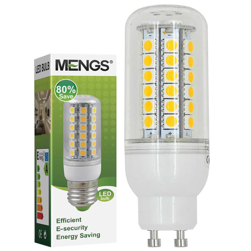 GU10 7W LED Corn Light 48x 5050 SMD LEDs LED Lamp Bulb in Cool White