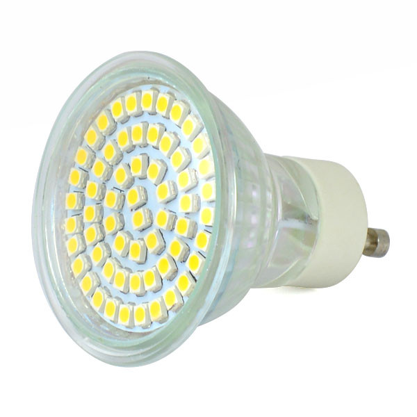 MENGS® GU10 3W LED Spotlight 60x 3528 SMD LEDs LED Lamp in Warm White Energy-saving Light