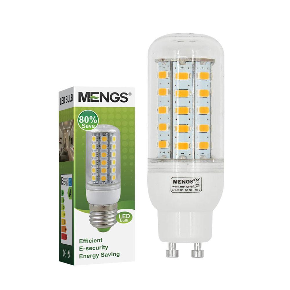 MENGS® GU10 5W LED Corn Light 48x 5730 SMD LEDs LED Bulb Lamp In Cool White Energy-Saving Lamp