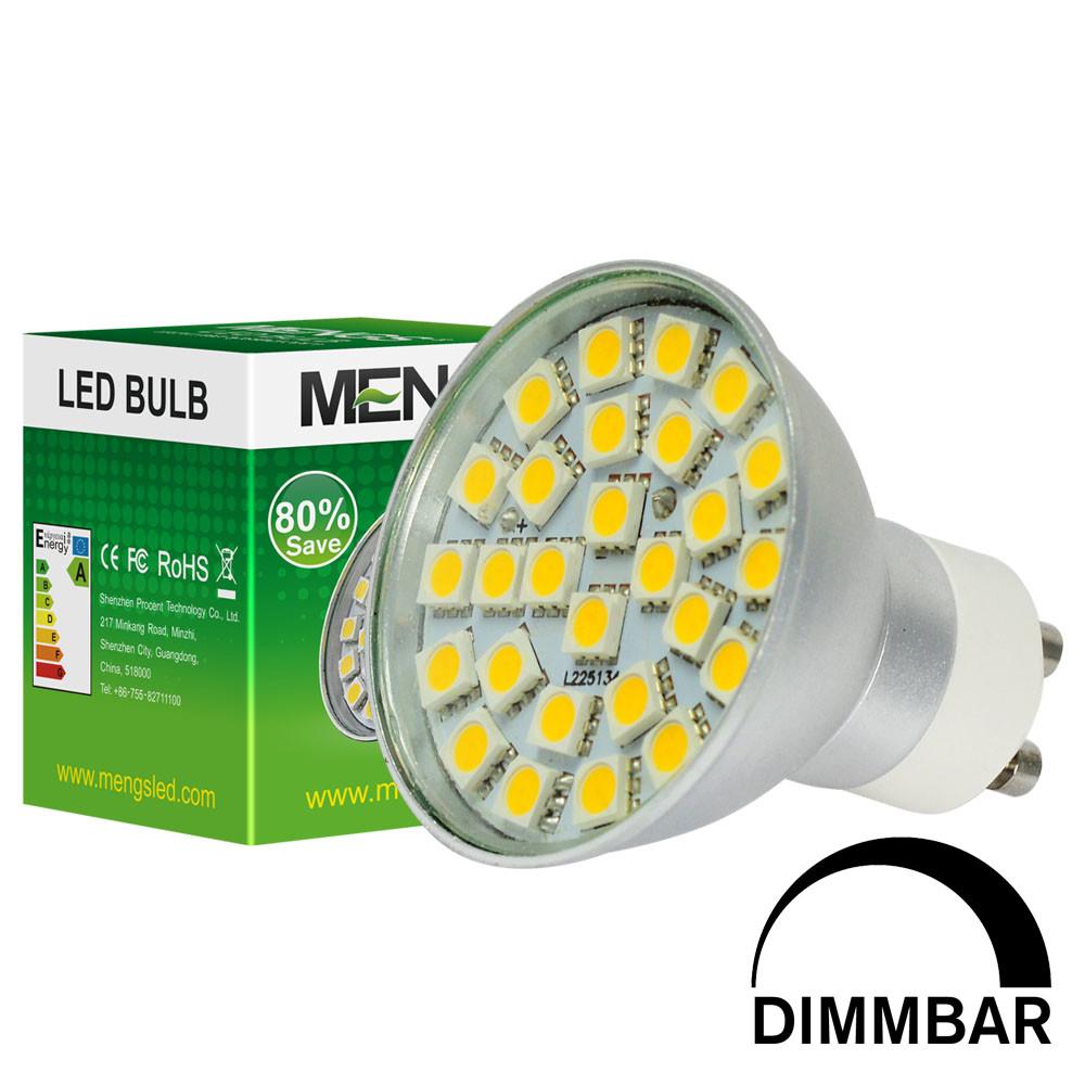 MENGS® GU10 5W Dimmable LED Spotlight 27x 5050 SMD LEDs LED Lamp Bulb in Warm White Energy-Saving Lamp