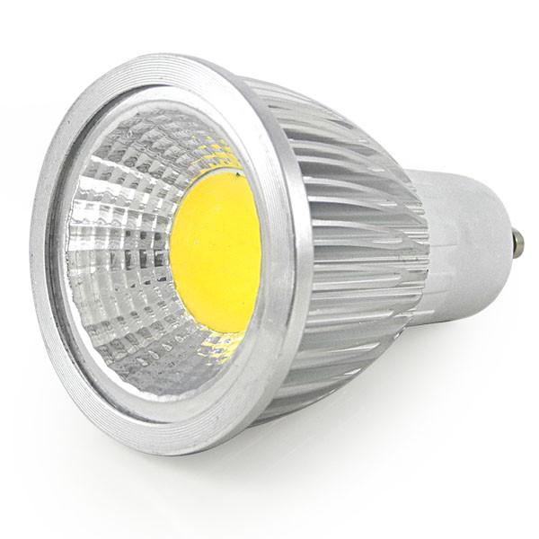 MENGS® GU10 5W LED Dimmable Spotlight COB LEDs LED Lamp AC 220V In Cool White Energy-Saving Lamp