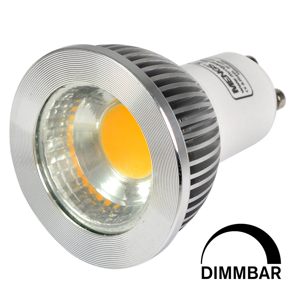 led spot dimmbar led spot gu10 led strahler 6w cob 70. Black Bedroom Furniture Sets. Home Design Ideas