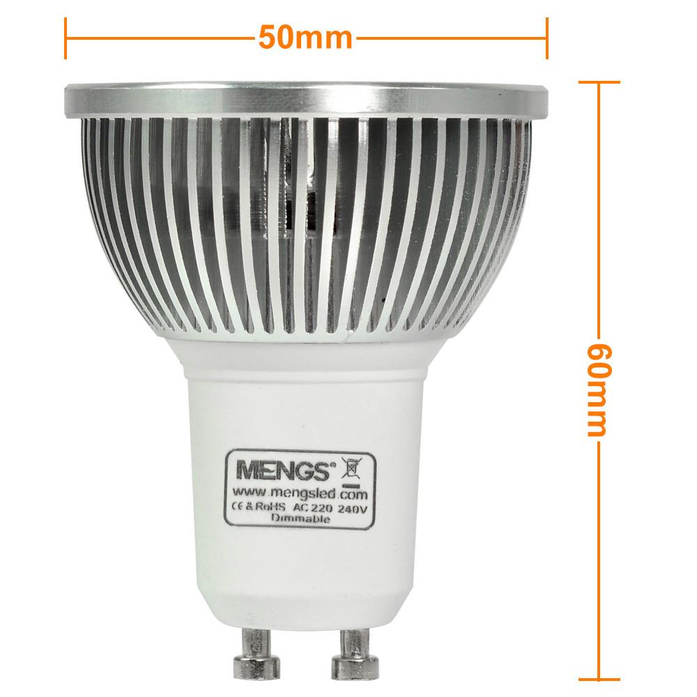 gu10 5w led dimmbar spotlight cob led lamp in warm white. Black Bedroom Furniture Sets. Home Design Ideas