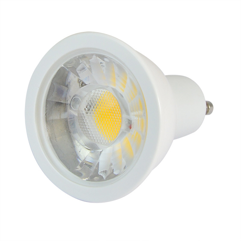GU10 5W LED Spotlight COB LED Lamp Bulb In Cool White Energy-Saving ...