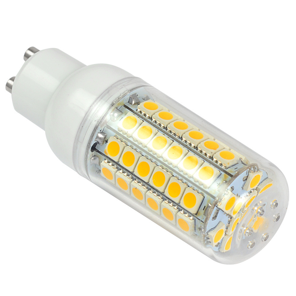 gu10 9w led corn light 69x 5050 smd leds led bulb ac 10 30v in warm white energy saving lamp. Black Bedroom Furniture Sets. Home Design Ideas