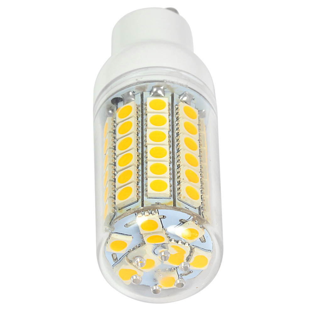 gu10 9w led corn light 69x 5050 smd leds led bulb in warm. Black Bedroom Furniture Sets. Home Design Ideas