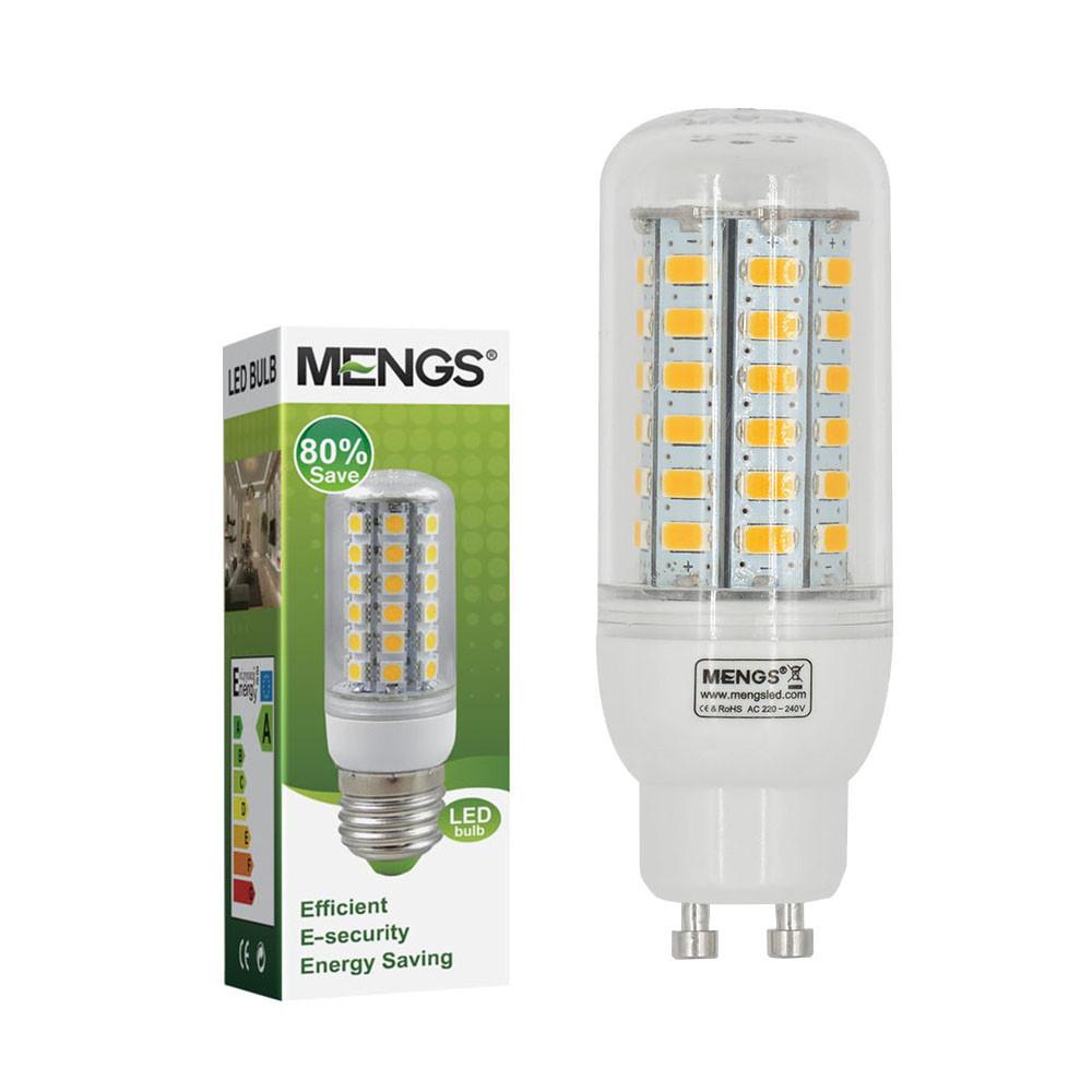 MENGS® GU10 7W LED Corn Light 56x 5730 SMD LEDs LED Bulb Lamp In Cool White Energy-Saving Lamp