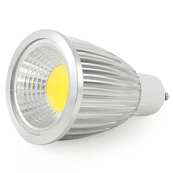 MENGS® GU10 7W LED Dimmable Spotlight COB LEDs LED Lamp Bulb AC 220V In Warm White Energy-Saving Lamp