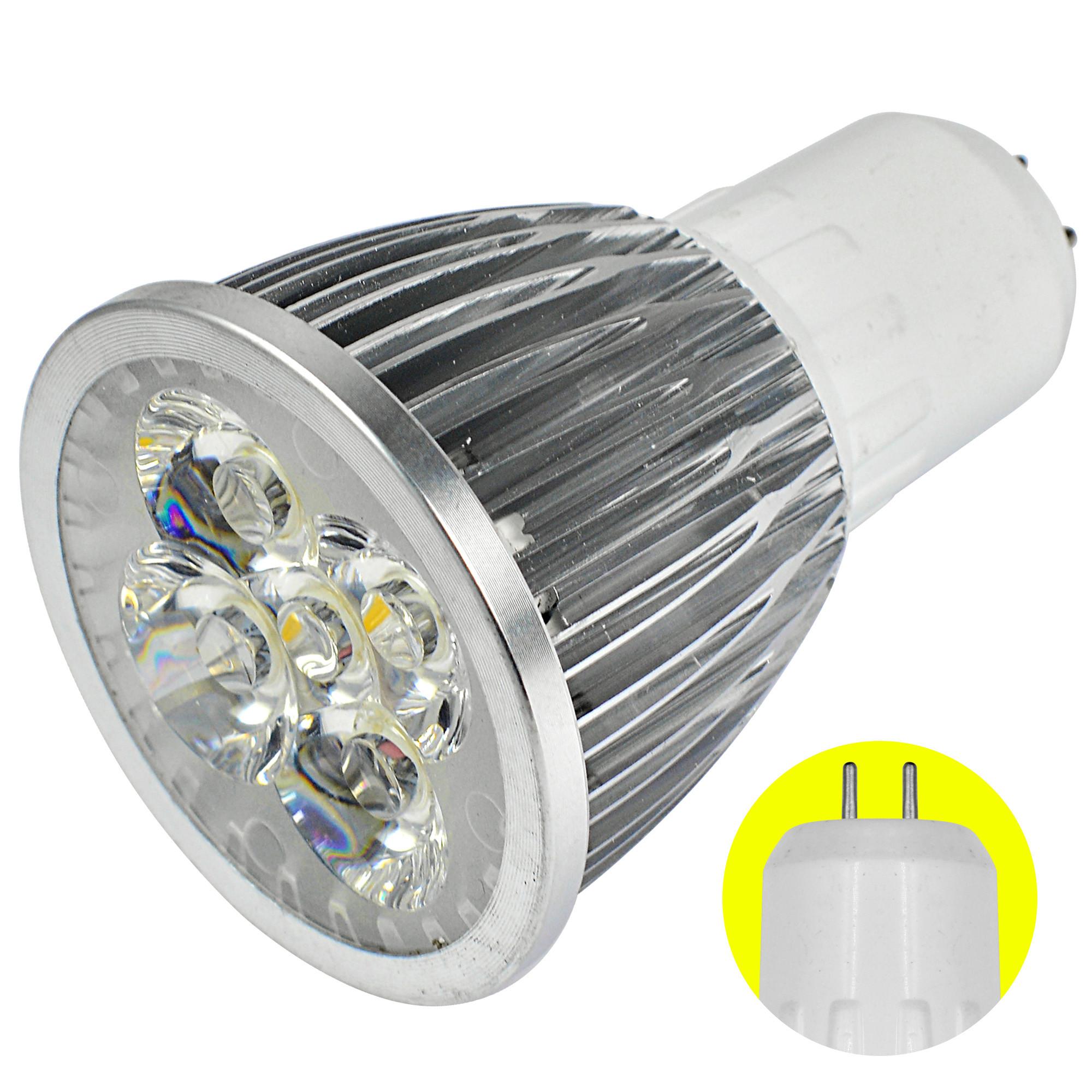 GU5.3 5W LED Spotlight SMD LEDs LED Lamp Bulb in Warm White Energy ...