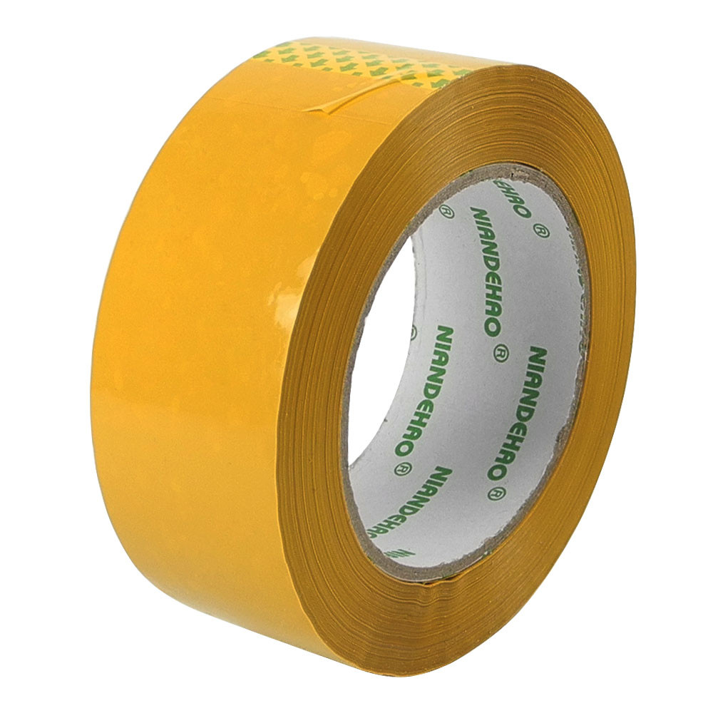 MENGS® 150M Yellow Shipping Packaging Adhesive Tape With BOPP For Home Commercial Industrial Moving Shipping Storing Basical
