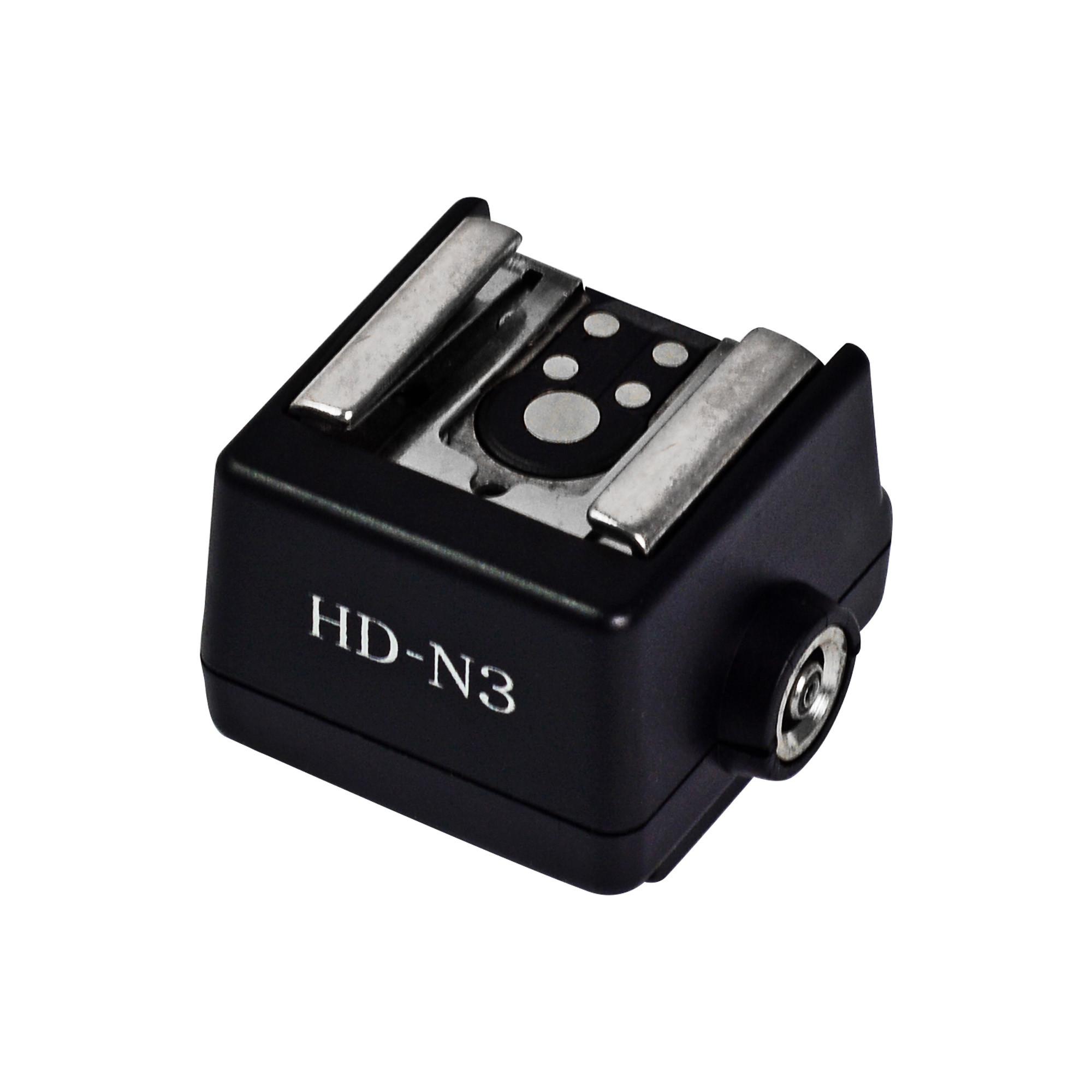 b6bba4c09a HD-N3 Hot Shoe Adapter High-quality Flash Hot Shoe PC Sync Socket ...