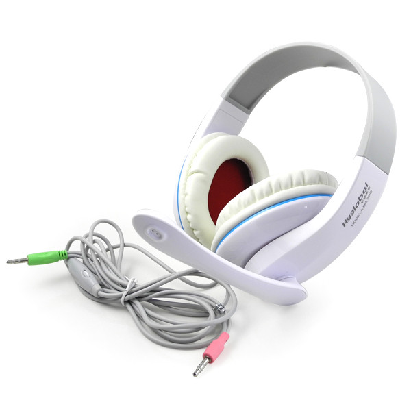 MENGS® Stereo Headset PC Notebook Pro Game Headphone Hyglobal A-868 White