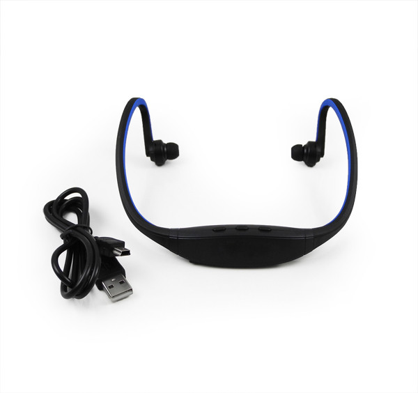 MENGS® IN Ear Stereo Sports Wireless Bluetooth Headset Earphone Headphone Blue
