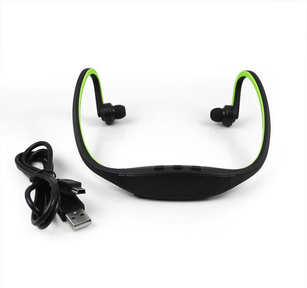 MENGS® IN Ear Stereo Sports Wireless Bluetooth Headset Earphone Headphone Green
