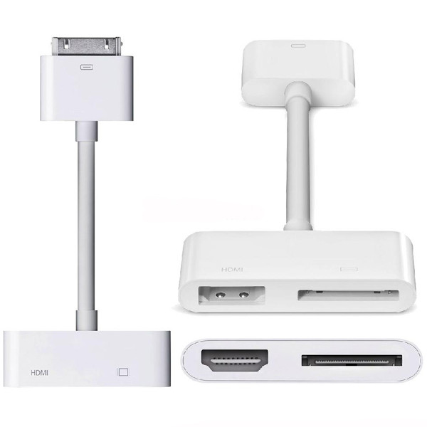 MENGS® Full HD 1080P Digital AV HDMI Adapter HDTV for Apple iPad 2 iPad 3 iPhone 4/4S