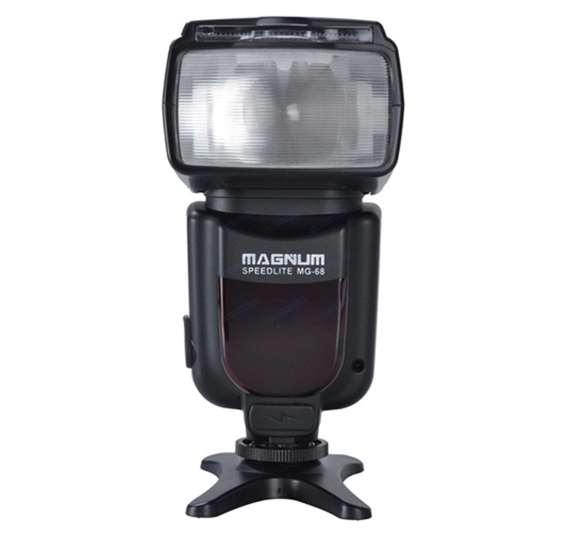 APUTURE® MG-68 Magnum Wireless Speedlite Three Flash Modes (M / S1 / S2) for Canon / Nikon / Pentax DSLR Camera