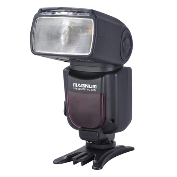 APUTURE® MG-68TL Magnum Speedlite Wireless Flashlight GN 48 four Flash Modes (TTL  / M / S1 / S2) for Canon DSLR Camera