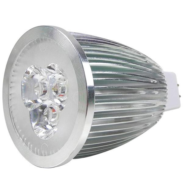 MENGS® MR16 9W LED Spotlight 3x 3W SMD LEDs LED Lamp Bulb in Warm White Energy-Saving Lamp