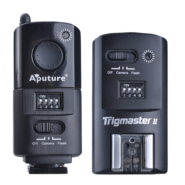 APUTURE® MXII-N Trigmaster II 2.4G Flash Trigger Receiver for Nikon D7100 / D7000 / D5200 / D5000 / D3200 / D3100 / D800E / D800 / D700 / D600 / D300 etc DSLR Camera