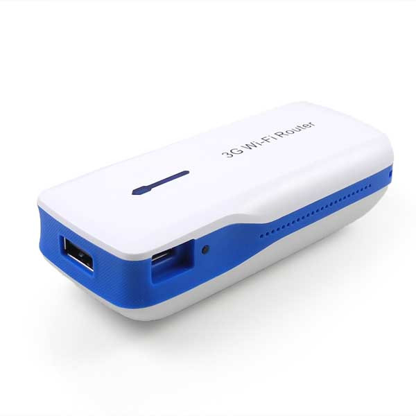 MENGS®  150Mbps USB 3G WIFI Mobile Router 3 in1 Mini Wireless Hotspot +5200mAh Power Charger