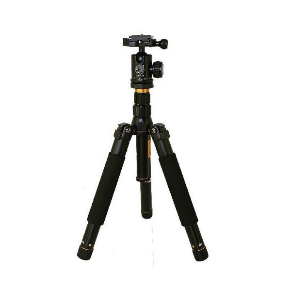 MENGS® Q-999 Portable Aluminum Tripod Monopod + Ball Head + Travel Bag for Nikon D7100 Canon 60D 70D 650D DSLR Camera