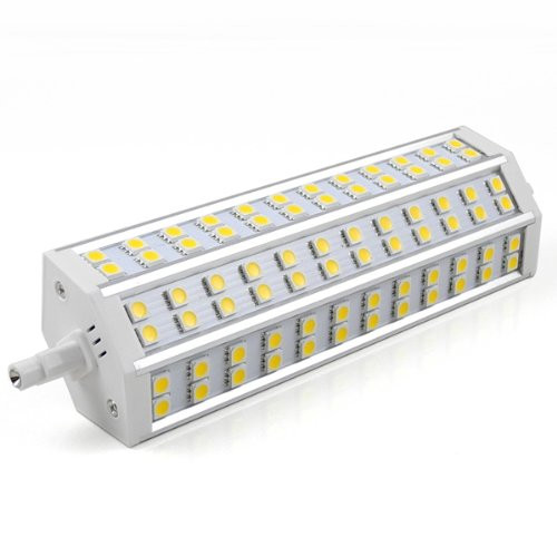 MENGS® R7S 15W LED Light 72x 5050 SMD LEDs LED Bulb In Warm White Energy-Saving Lamp - Dimmable