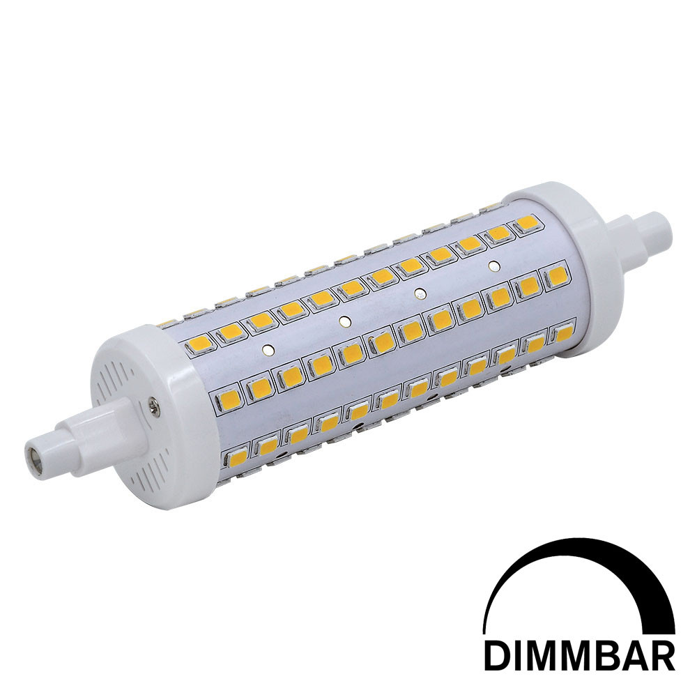 MENGS® R7s 10W LED Dimmable Flood Light 96x 2835 SMD LED Lamp Bulb In Warm White Energy-Saving Light