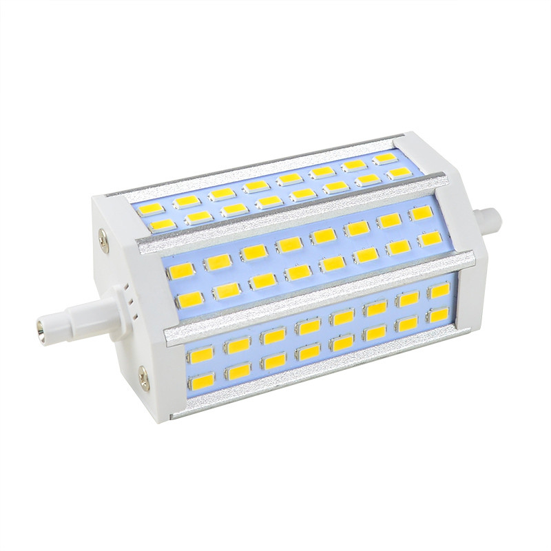 MENGS® R7s 12W LED Dimmable Flood Light 48x 5730 SMD LEDs LED Lamp Bulb in Warm White Energy-saving Lamp