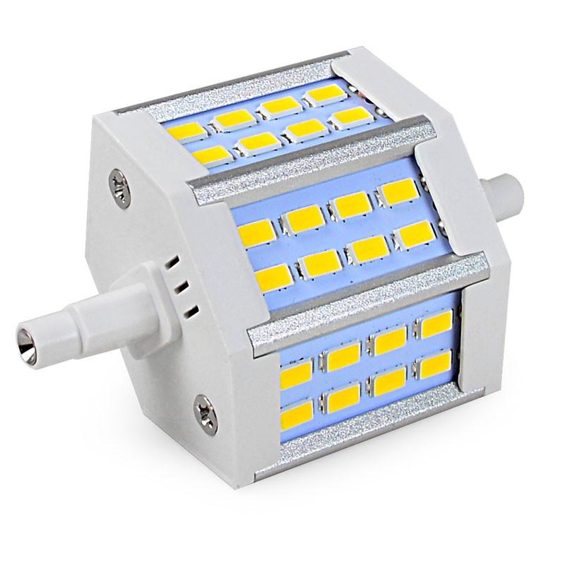 MENGS® R7s 6.5W LED Flood Light 24x 5730 SMD LEDs LED Lamp Bulb in Warm White Energy-saving Lamp
