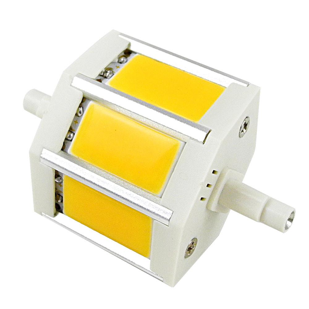 MENGS® R7S J78 6W LED Flood Light 3 COB LED Lamp Bulb in Warm White Energy-saving Lamp
