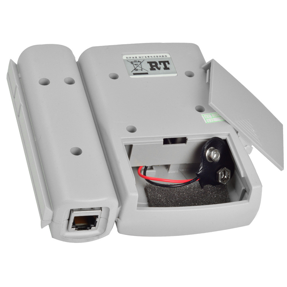 Cable Testing Kit : Rj network cable tester cat lan patch