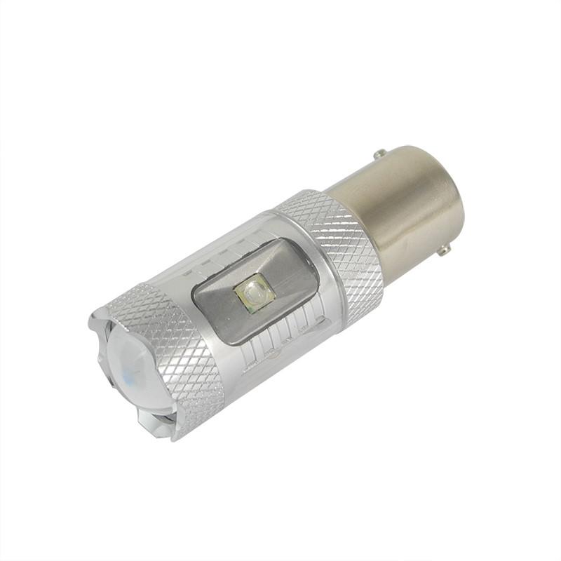 MENGS® 1156 BA15S 8W Red LED Car Light With Aluminum Coat for Anti-Fog / Brake / Reading / Door Light DC 9-30V Energy-Saving Lamp