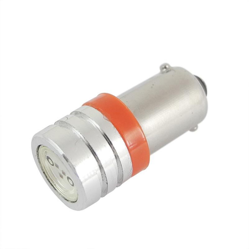 MENGS® BA9S 1.5W LED Car Light For Car Turning Light / Reversing Light / Fog Light DC 12V In Red Energy-Saving Lamp
