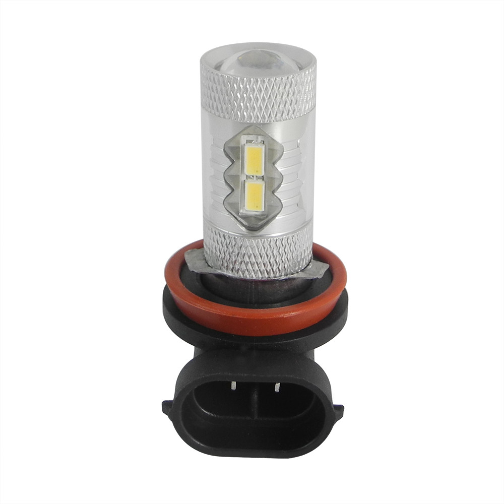 MENGS® H8 20W LED Car Light With Aluminum Coat for Anti-Fog Light / Reversing Light DC 9-30V In White Energy-Saving Light - SC-H8TN-SM5630-10X2W