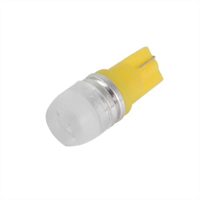 MENGS® T10 1.5W Yellow LED Car Light With Aluminum Coat for Turning Light / Reading Light / License Plate Light / Car Dome Light DC 12V Energy-Saving Light