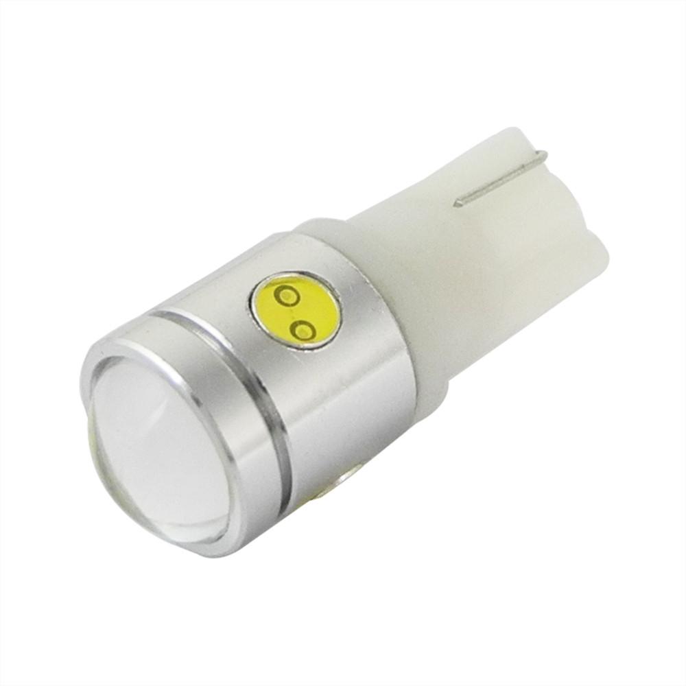 MENGS® T10 2.5W LED Car Light With Aluminum Coat for Turning Light / Reading Light / License Plate Light DC 12V In White Energy-Saving Light