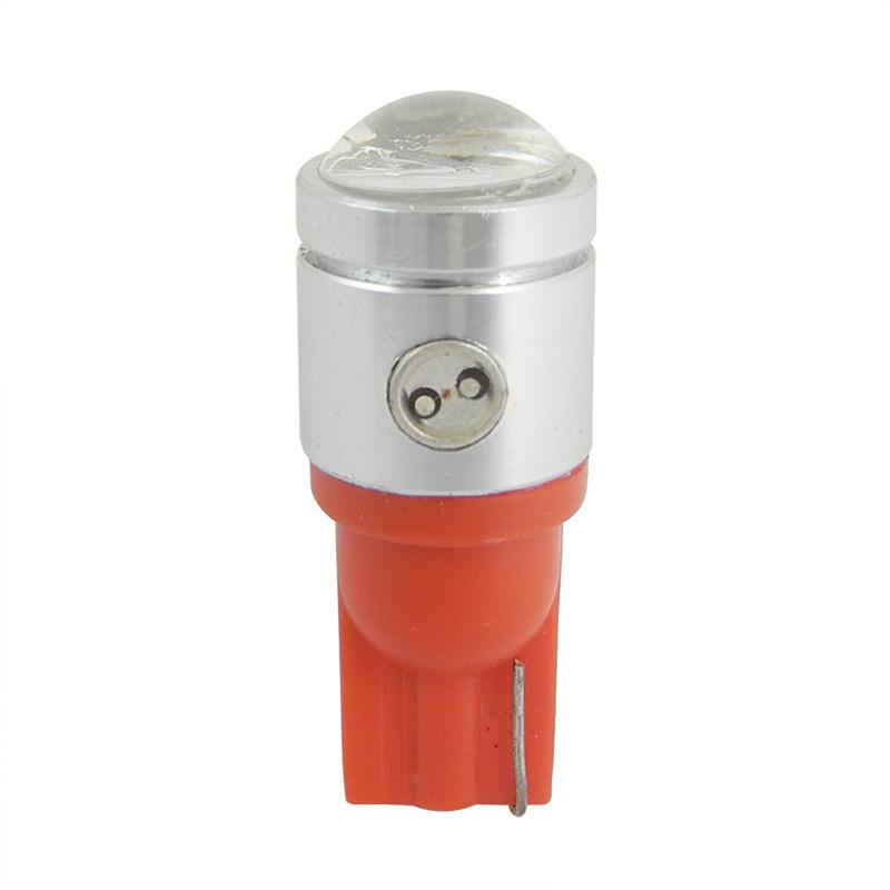 MENGS® T10 2.5W LED Car Light With Aluminum Coat for Turning Light / Reading Light / License Plate Light DC 12V In Red Energy-Saving Light