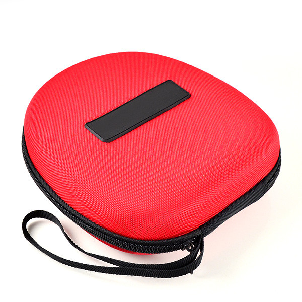 MENGS® SJ3 ES7 ES10 Earphone Carrying Zip Case With Hardness EVA anti-shock Material hard case & storage bag - Red