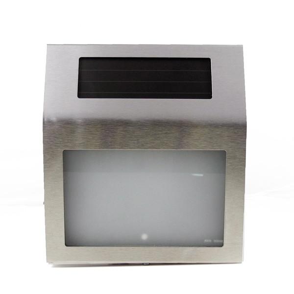 MENGS® Stainless Steel Solar Powered House Door Number LED Light