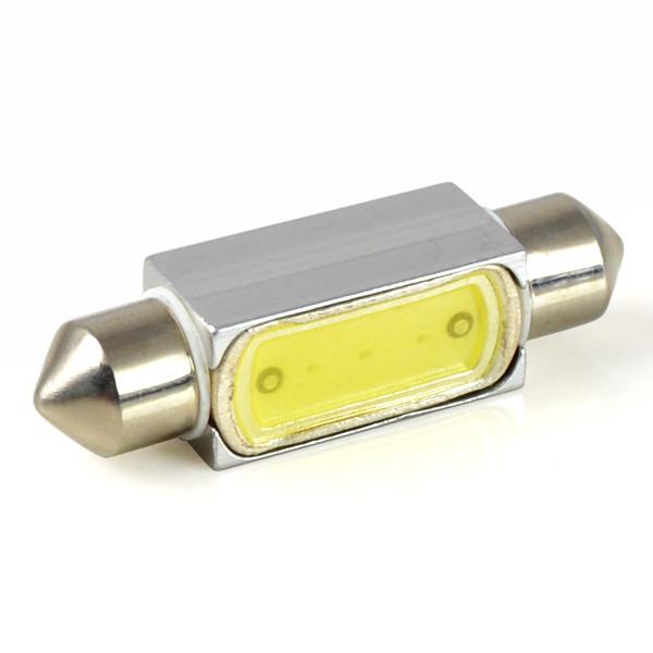 MENGS® SV8.5 2W LED Car Light COB LED Lamp LED Width Lamp / Turning Light / Trunk Light / Reading Light DC 12V in Cool White Energy-Saving Light - 41mm