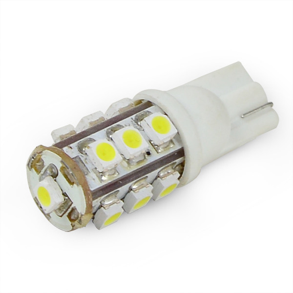 MENGS® T10 1.5W LED Car Light 13x 3528 SMD LEDs Car Width Light / Reading Light / Indoor Car Light LED Lamp DC 12V in Warm White Energy-saving Lamp