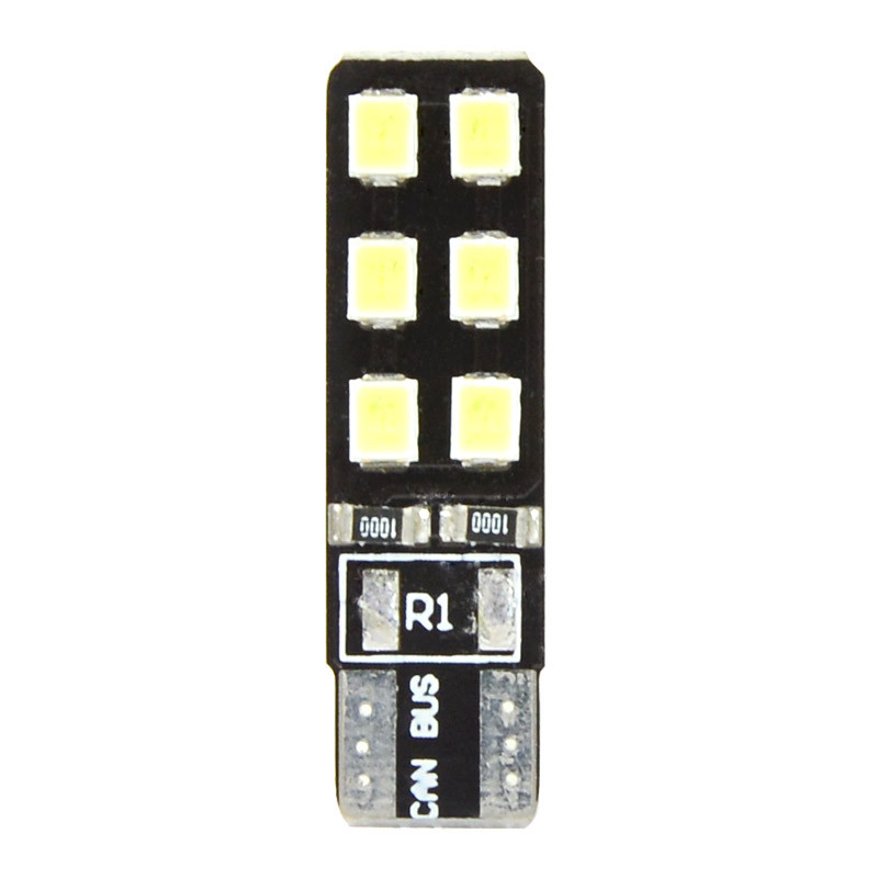 MENGS® T10 3W LED Car Light 12x 2835 SMD LEDs LED Canbus Light LED Reading Light DC 12V in Cool White Energy-saving Lamp