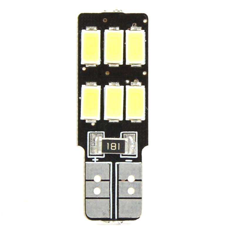 MENGS® T10 5W LED Car Light 6x 5730 SMD LEDs LED Canbus Light LED Reading Light DC 12V in Warm White Energy-saving Lamp