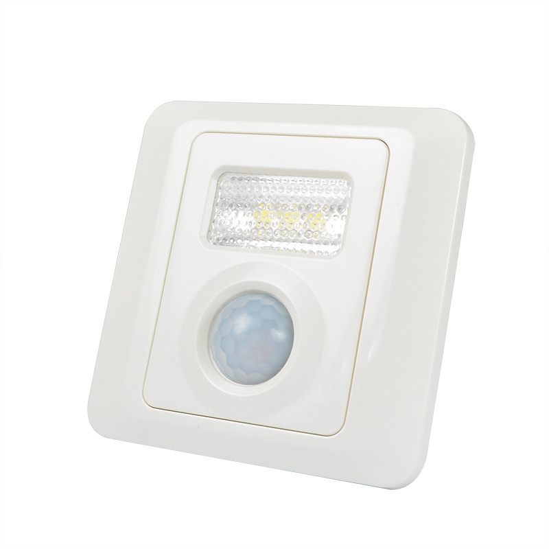 MENGS® TR-008 0.6W LED Sensor Light 3 SMD LEDs LED Motion Sensor Wall Step/Stair Lamp In Warm White Energy-Saving Light
