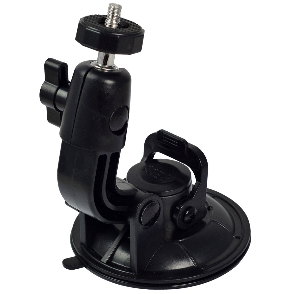 mengsphoto mengs universal in car mount with suction cup windshield lock clip for camera. Black Bedroom Furniture Sets. Home Design Ideas