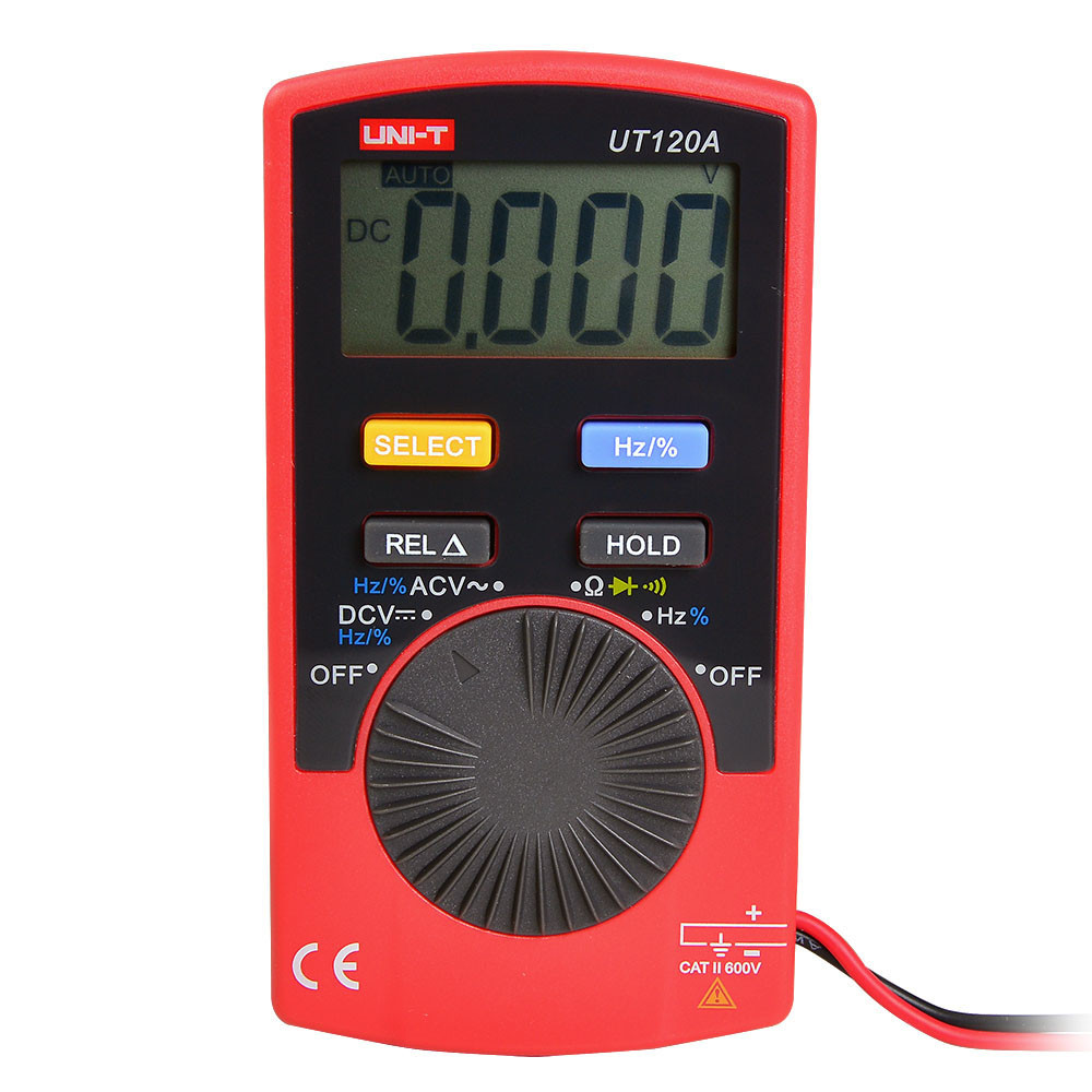 MENGS® UT120A Pocket Size Type Digital Multimeter Which can Measuring AC voltage / DC voltage / Resistance Tester Meter