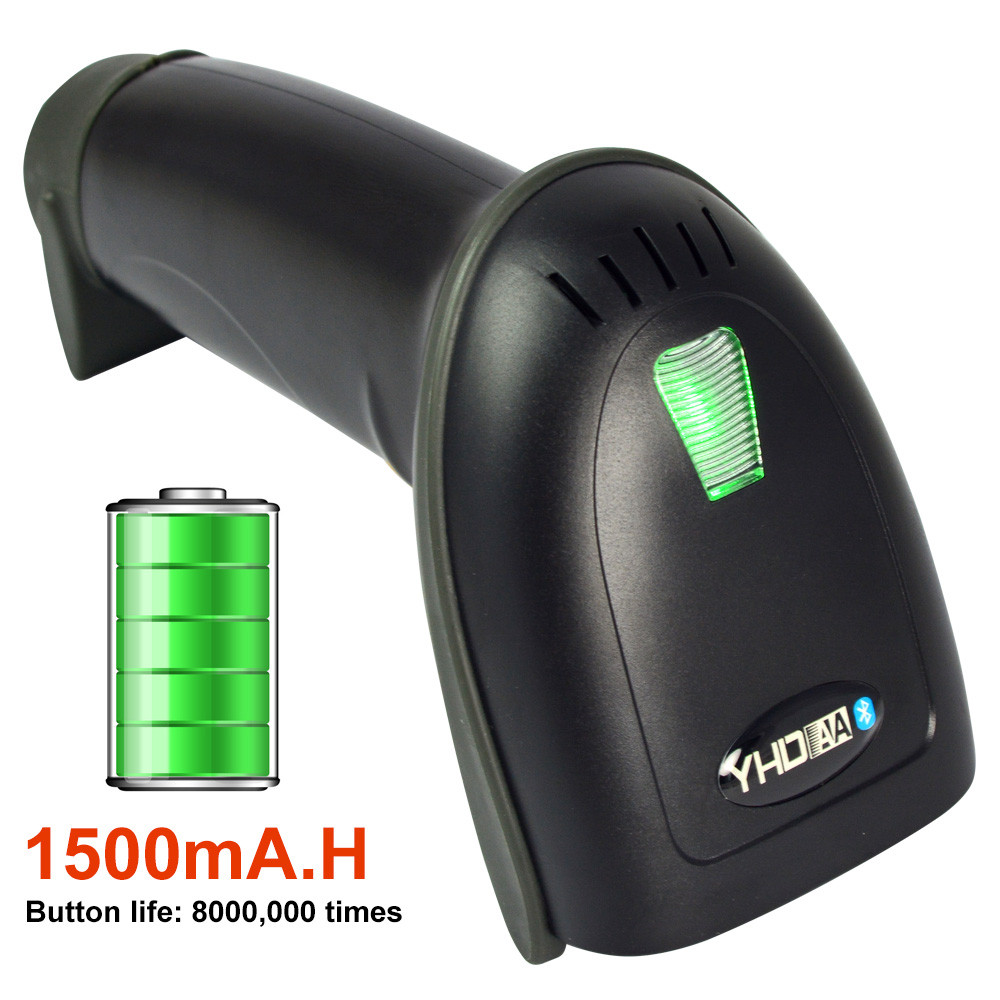 YHD-3100 USB Wireless Bluetooth LED Barcode Reader Scanner