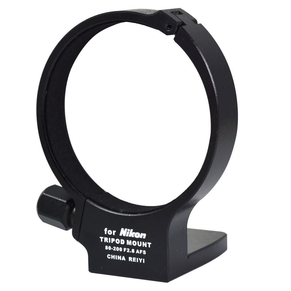 MENGS® 80mm Stativschellen mit Aluminium-Legierung Material Für Nikon AF-S 80-200mm f/2.8D ED