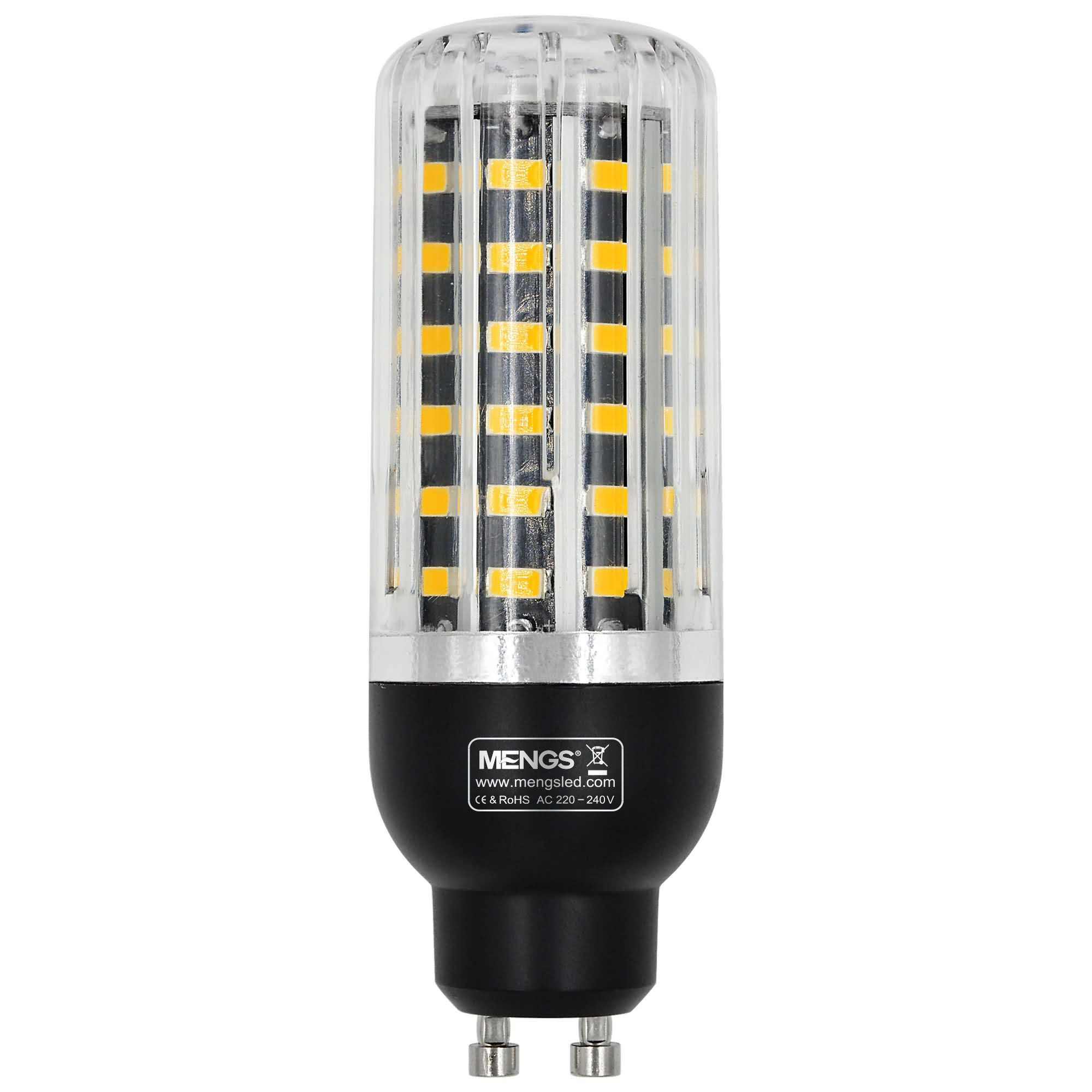 MENGS® GU10 8W LED Corn Light 56x 5733 SMD With Heat Sink LED Bulb Lamp in Cool White Energy-Saving Light